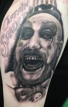 captain spaulding tattoo