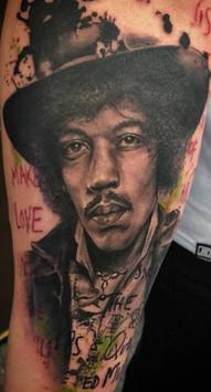 jimy hendrix tattoo