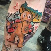 morph graffiti tattoo