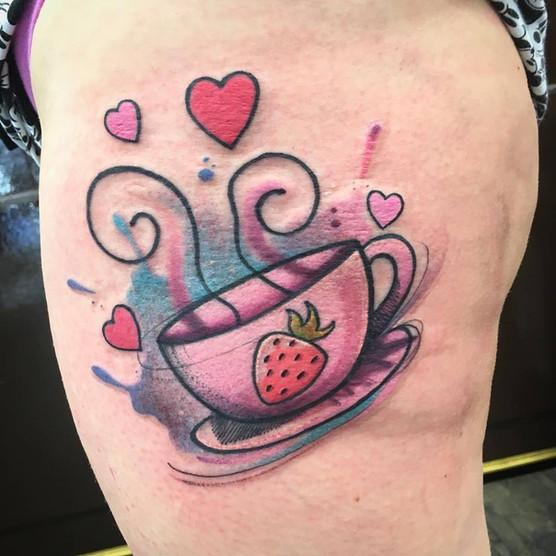 teacup heart my little pony tattoo