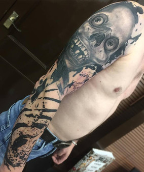 twisted abstract realism sleeve