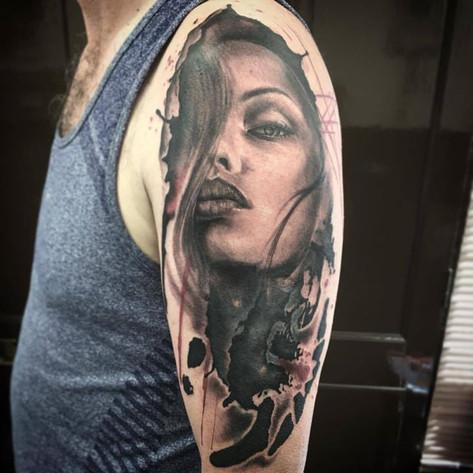 Tattoo by Ollie Tye