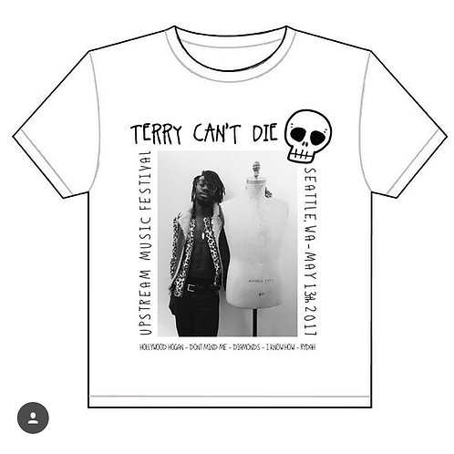 TERRY CANT DIE UPSTREAM FESTIVAL 17' (TEE)