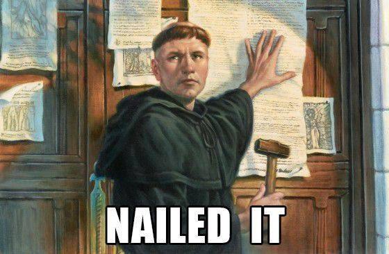 Sermon:  The Real Reformation