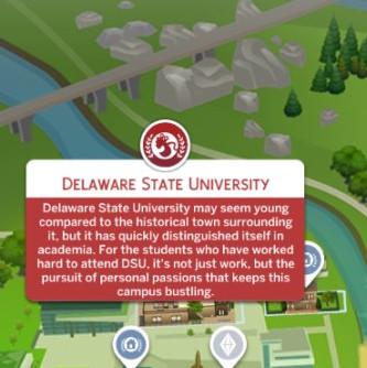 Sims 4 University HBCU Name Overrides