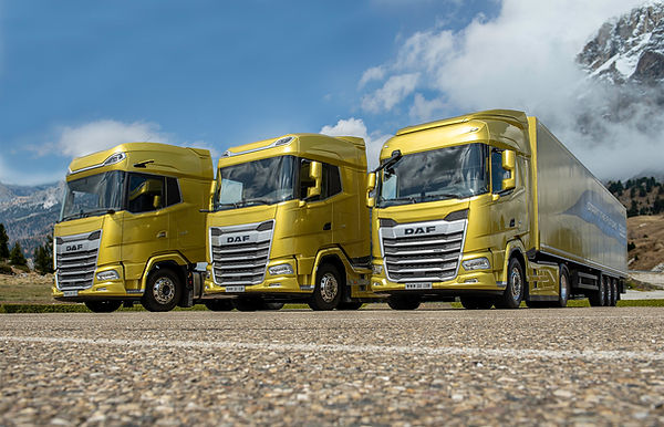 The New Generation DAF trucks 2021. From
