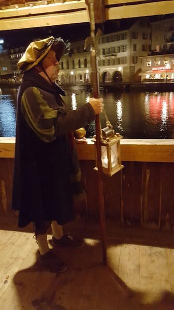 Nachtwächter in Luzern