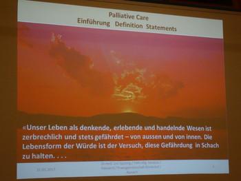 Vortrag Palliative Care