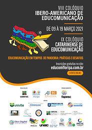 Abertas inscrições para o VIII Colóquio Ibero-americano e IX Colóquio Catarinense de Educomunicação