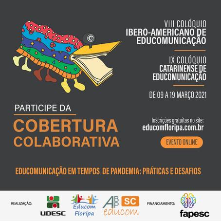 Participe da Cobertura Colaborativa nos Colóquios