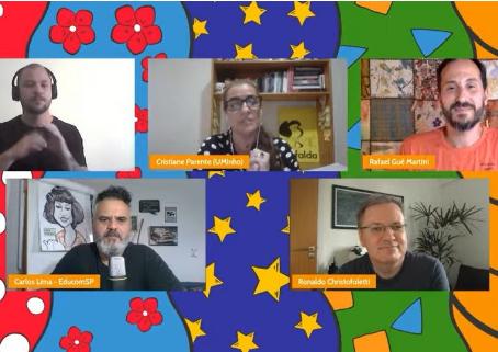 Debate discute práticas pedagógicas educomunicativas, ODS e inclusão como oportunidades de mudanças