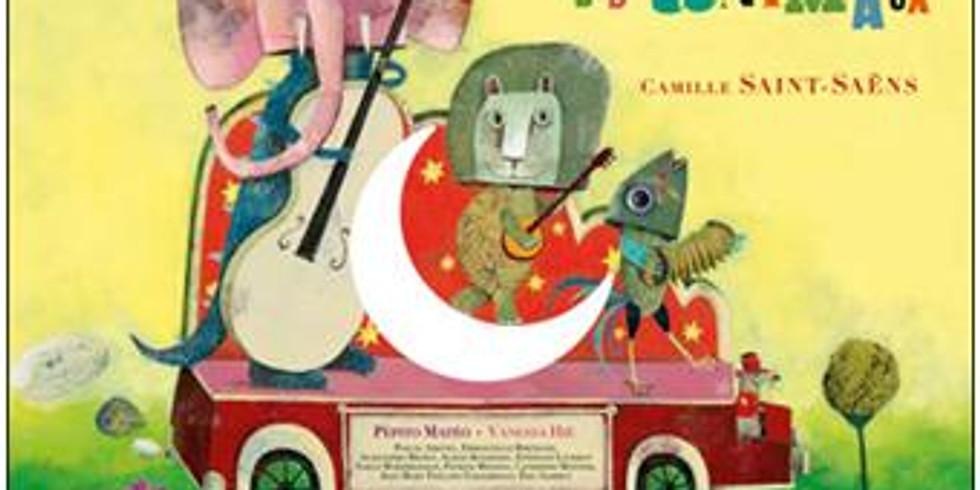 Camille Saint-Saens (Le Carneval de Animaux); Mindaugas Piecaitis (CATcerto)