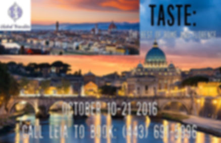 Global Travelite Taste the Best of Rome