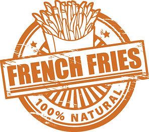patatine fritte naturali 100%