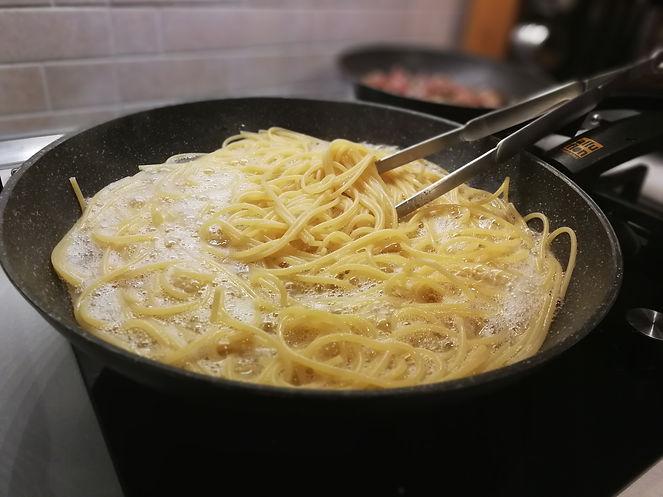 Spaghetti risottati