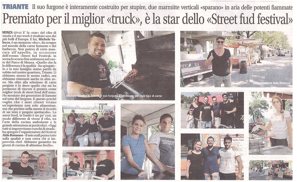 GIORNALE STREET FOOD