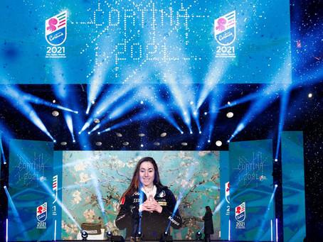 Cortina 2021, aperti i Mondiali di sci alpino