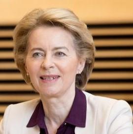 """Ursula von der Leyen: """"Milan l'è on gran Milan"""""""