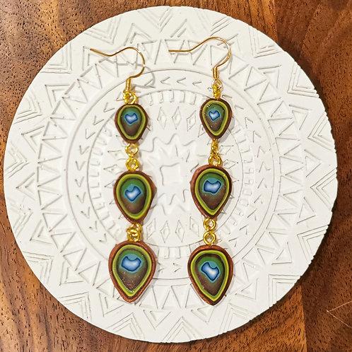 Peacock Cane Drops