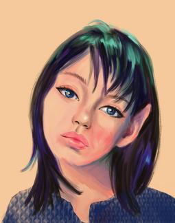 Another Pixie, digial portrait