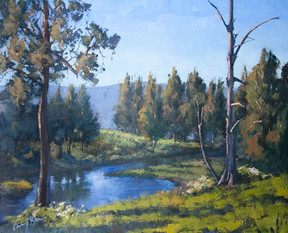 Kanimbla Valley, Oil, 62 x 52cm
