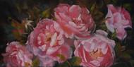 Roses, oil, 30 x 60cm