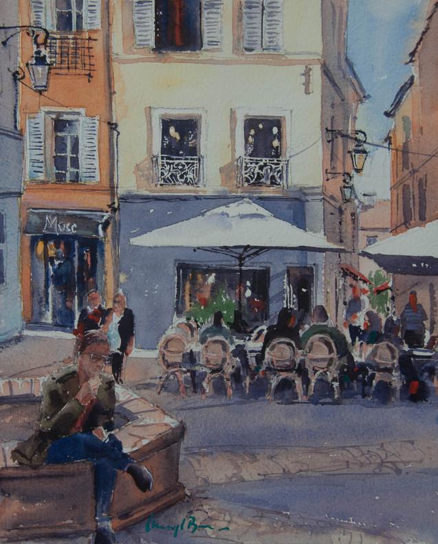 Resting Place, Aix-en-Provence, France, sold
