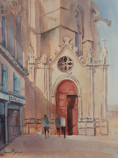 The Red Door, Narbonne France, sold