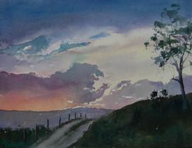 Kanimbla Valley Sunset