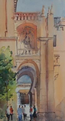 Mesquita Bell Tower, Cordoba, Spain