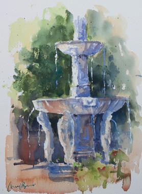 Fountain, Granada