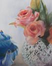 "Time for Tea, watercolour 16 x 20"""