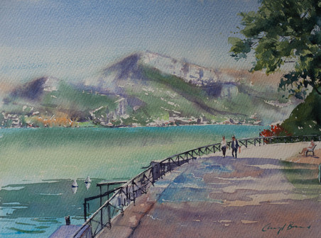 Lake Walk, Annecy