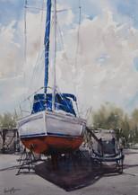 Up for Maintenance I, Watercolour, 51cm x 64cm
