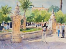 Mesquita Fountain, Cordoba, Spain