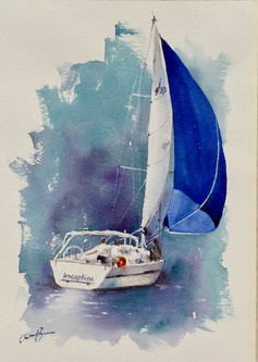 """Inception, watercolour, 16x20"""""""