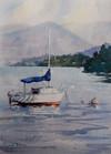Come Sail With Me, watercolour, 61x52cm