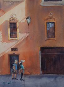 Shadow Patterns II, Granada Spain