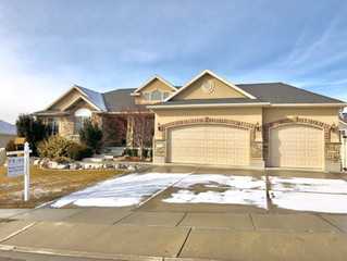 JUST SOLD IN THE FIRST WEEKEND! $515,000 Large    Rambler Floor Plan in Lehi.
