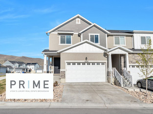SOLD AND CLOSED END TOWN HOME IN HERRIMAN. $429,999