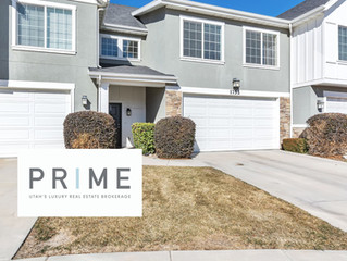 NEW TOWN HOME LISTING IN RIVERTON! II $350,000