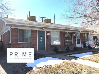 JUST LISTED SALT LAKE CITY DUPLEX II RARE OPPORTUNITY $325,000