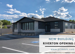 PRIME RESIDENTIAL'S SOUTH VALLEY OFFICE IS OPENING IN RIVERTON!