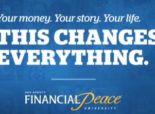 SIGN UP TODAY! DAVE RAMSEY'S FINANCIAL PEACE COURSE