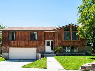 Just Sold Cottonwood Heights Split Level $370,000
