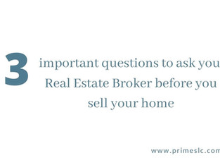 3 Questions to ask your Real Estate Agent before hiring them to sell your home.