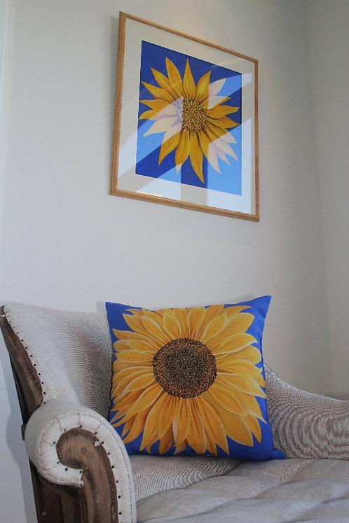 Sunflower Outdoor Cushion/Pillow