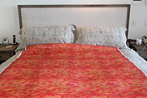 Poppy Study 2 Linen Fabric