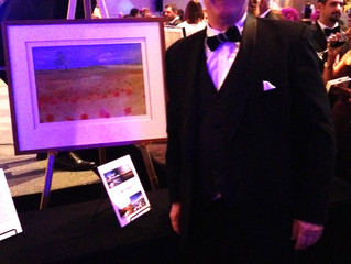 Helen's Art Raises $1000 in Auction