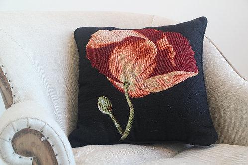 Robert's Poppy Woven Cushion/Pillow
